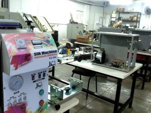 fabrica silk machine